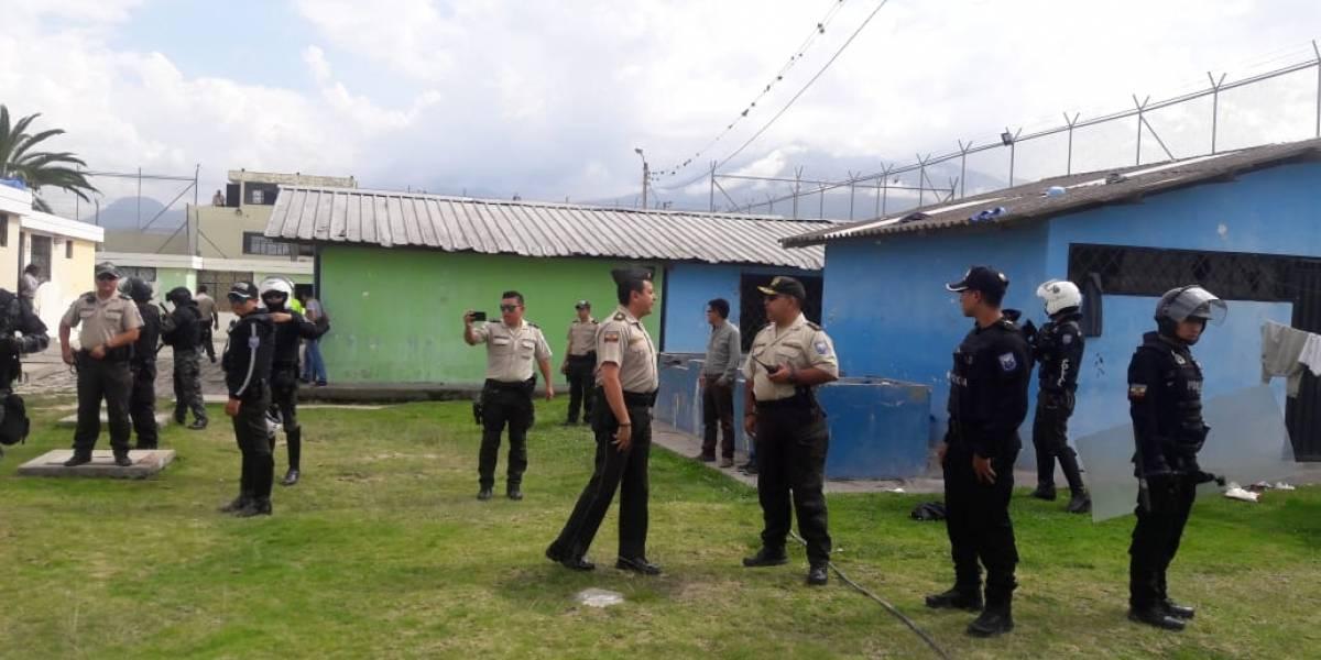 Ibarra: Se controla amotinamiento e intento de fuga en el Centro de Adolescentes Infractores
