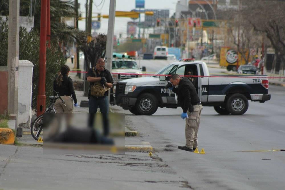 Escena de un homicidio en Ciudad Juárez Foto: Cuartoscuro