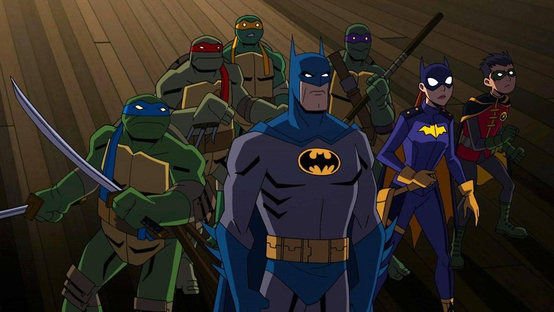Trailer: Batman vs Las Tortugas Ninja