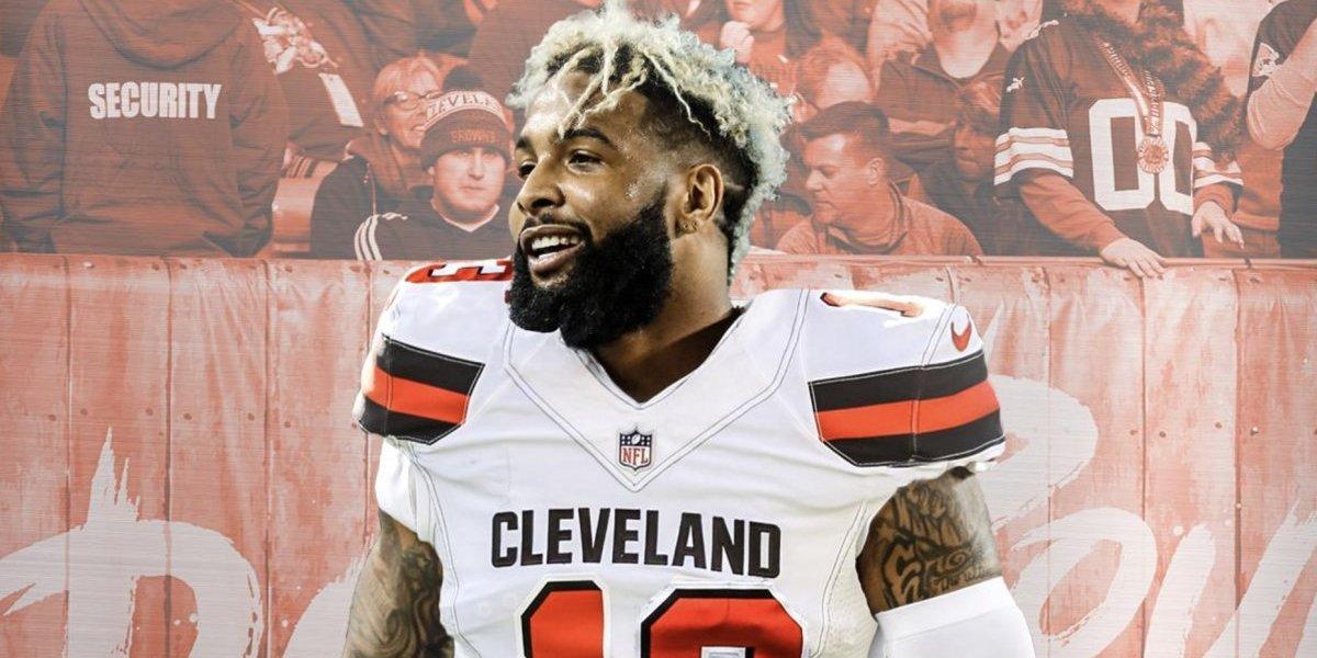 Browns de Cleveland adquieren a Odell Beckham Jr.