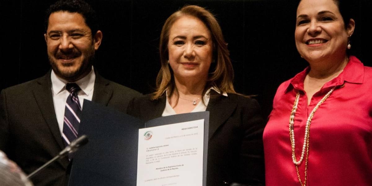 Senado elige a Yasmín Esquivel como nueva ministra de la SCJN