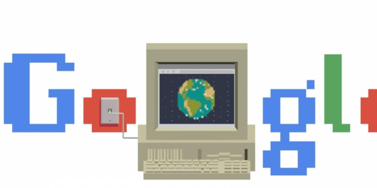 Hoy se celebran 30 años de la World Wide Web y Google le dedica su Doodle