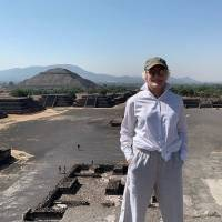 La actriz está en México.