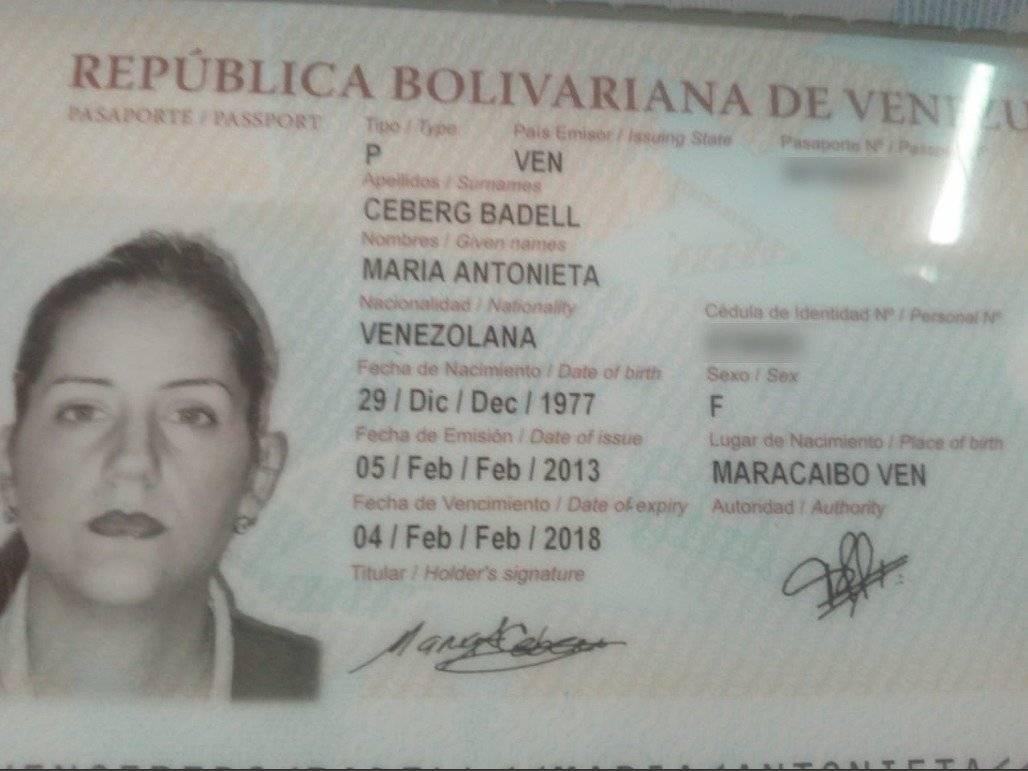 Familiar de Nicolás Maduro