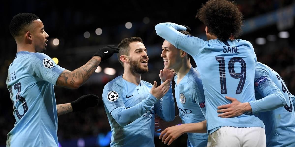 ¡Manchester City ganó, gustó y goleó! Los de Pep se dieron un banquete ante el Schalke 04