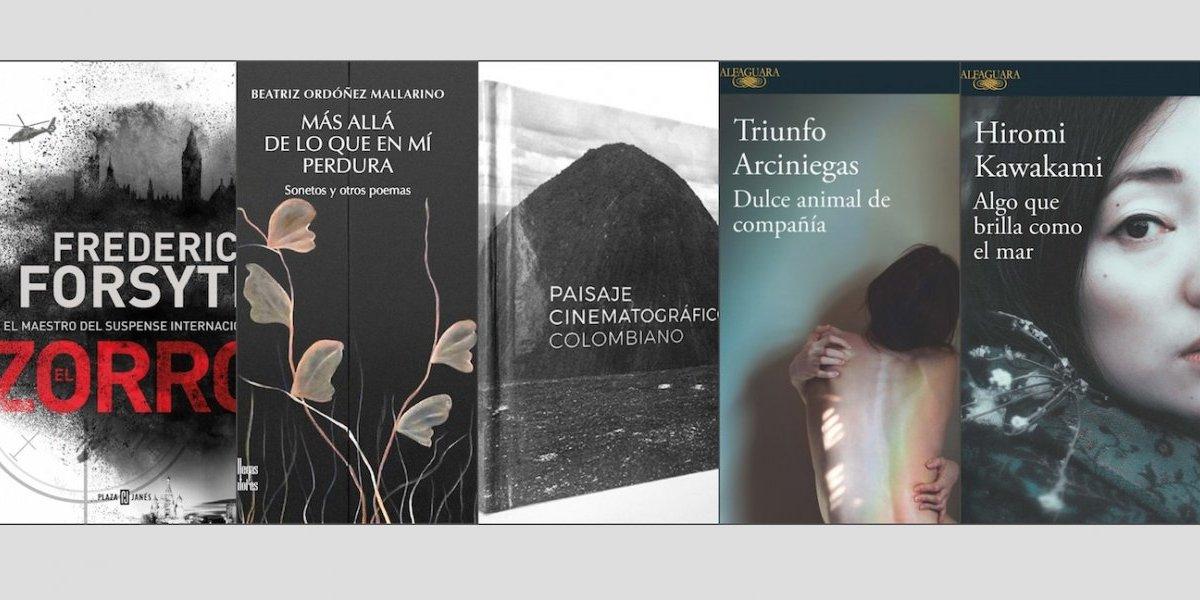 5 libros de suspenso, cine y poesía para disfrutar en marzo
