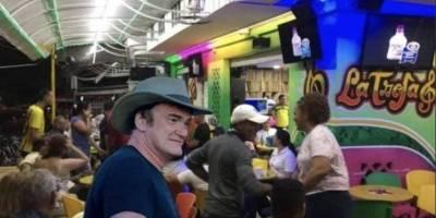 Memes que dejó la visita de Tarantino