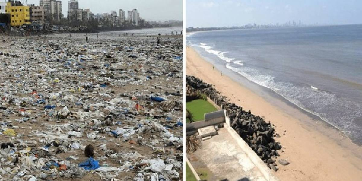 Reto viral incentiva a miles de usuarios a recoger basura
