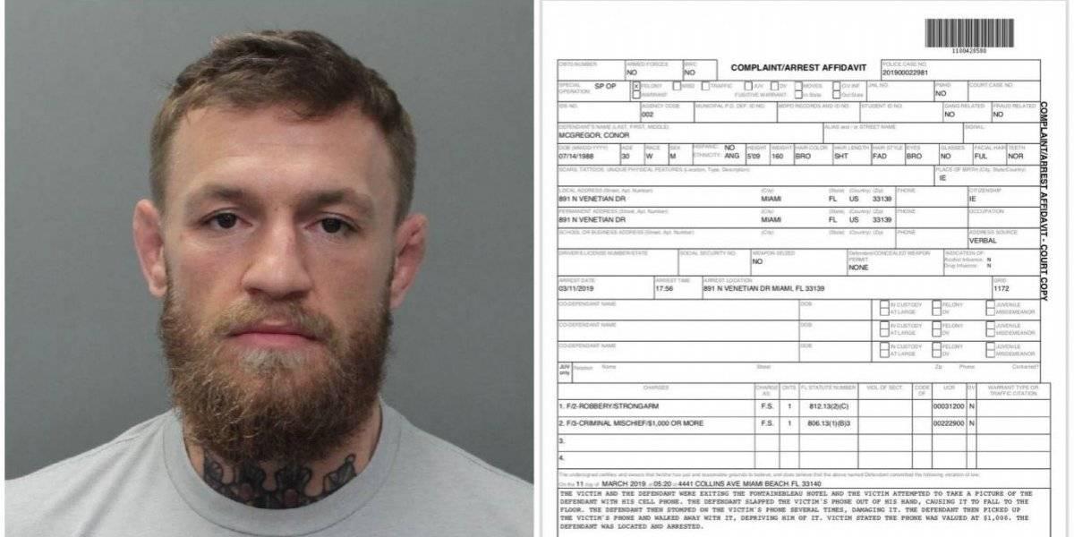 Conor McGregor ¡Qué hiciste para que te arresten!