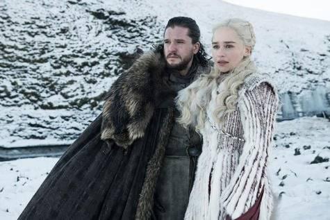 Daenerys y Jon Snow llegan a Invernalia