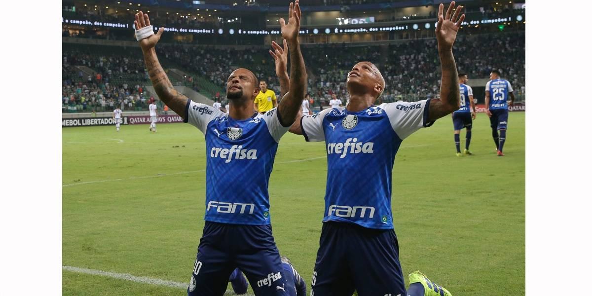 Com gol de Deyverson, Palmeiras passa fácil pelo Melgar na Libertadores