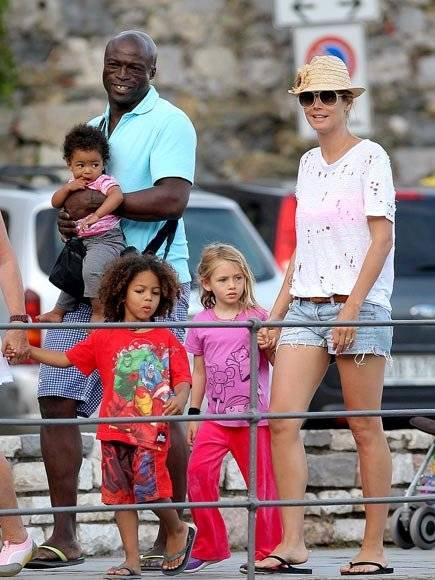 Heidi Klum y sus hijos