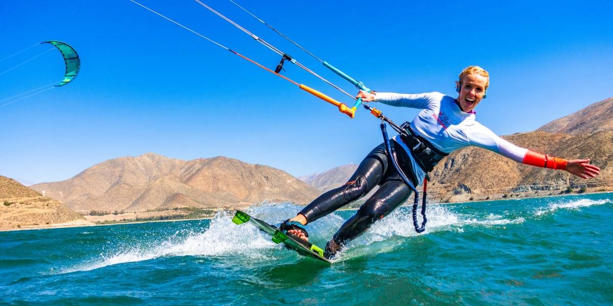 Kite Girl Day 2019: Jóvenes chilenas brillan en la tercera versión disputada en Coquimbo