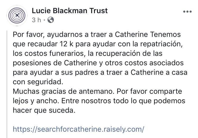 Fondos para Catherine Shaw