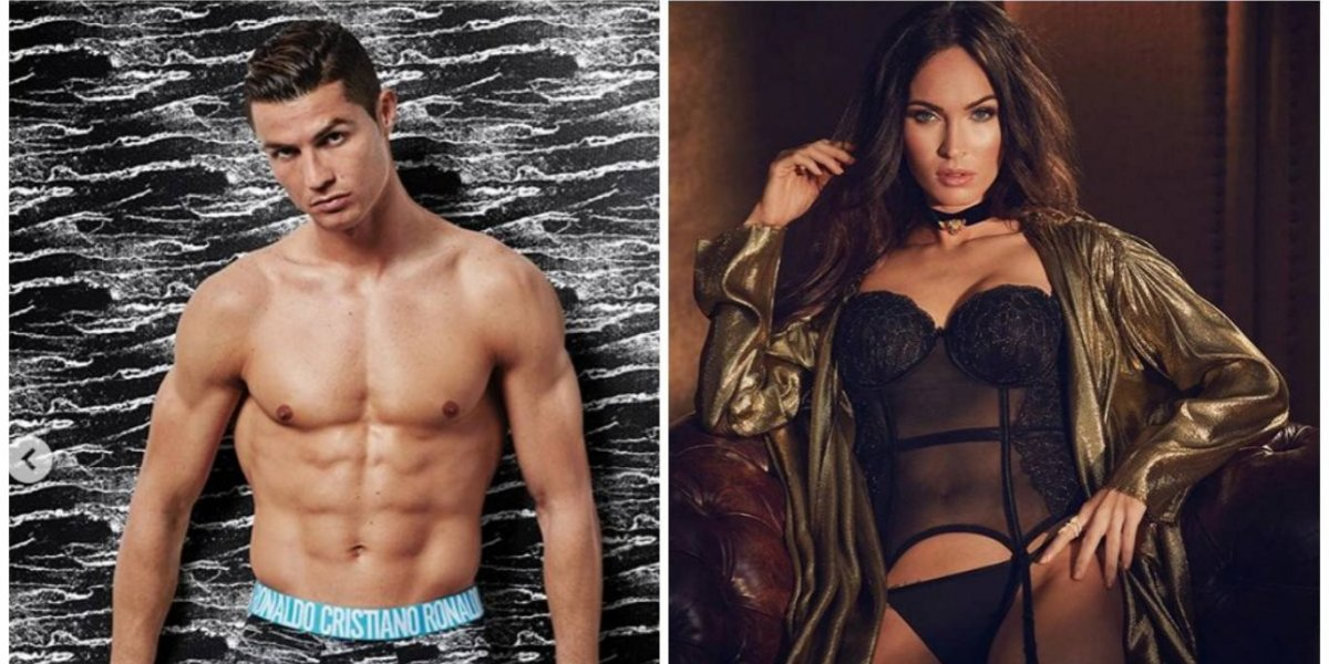 Megan Fox revela el secreto del posado en ropa interior con Cristiano Ronaldo