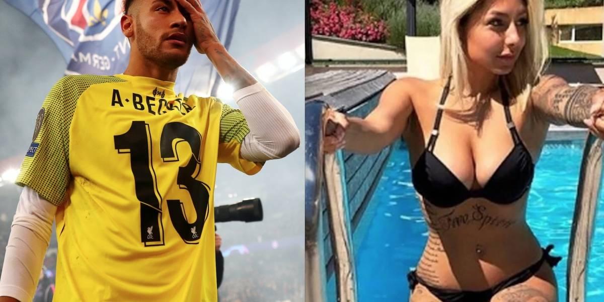 FOTOS: Sexy tatuadora ventila cómo fue la noche que pasó con Neymar