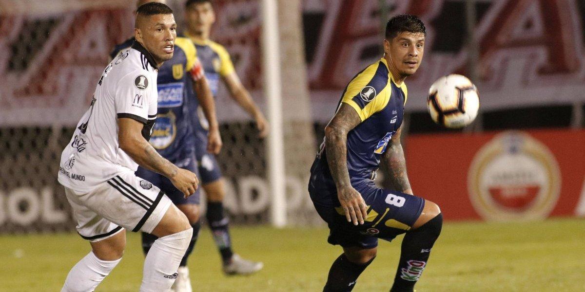 U. de Concepción rescató laborioso empate ante Olimpia de Paraguay por la Copa Libertadores