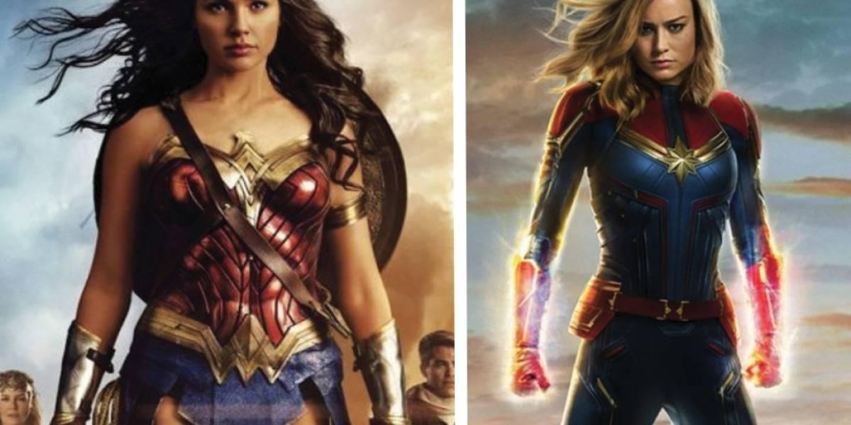 La Mujer Maravilla felicita a la Capitana Marvel con emotivo dibujo y mandan importante lección