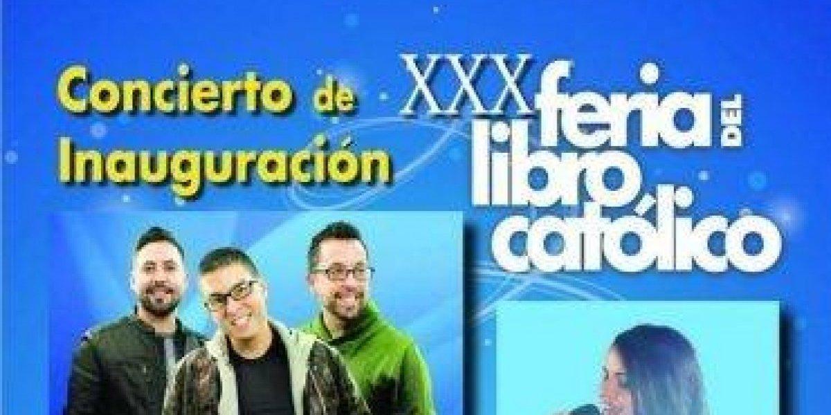 """Son by Four y Celinés Díaz cantarán en la inauguración de la """"Feria del Libro Católico"""""""
