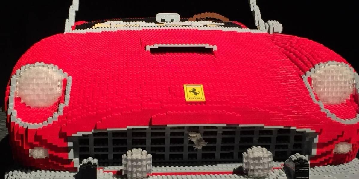 Disfruta con tu familia una de las exposiciones de LEGO más grandes de la región