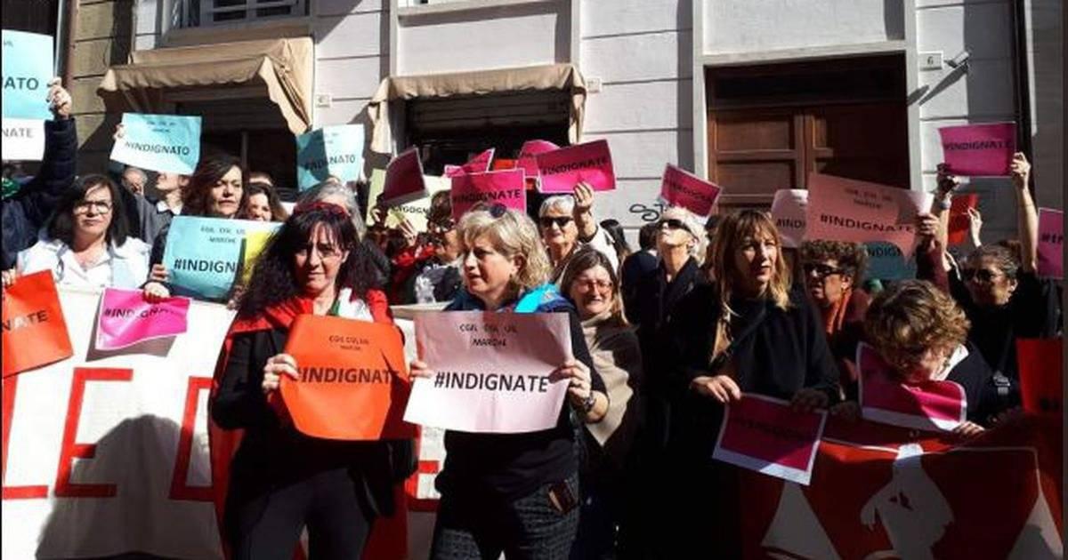 protesto tribunal italia