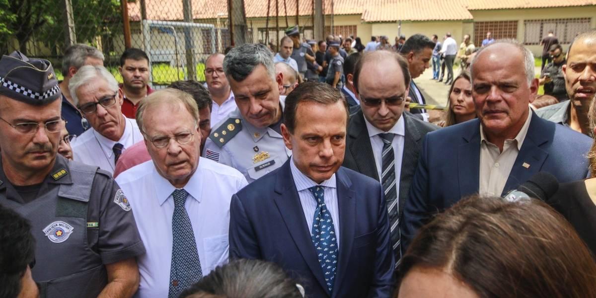 Doria decreta luto de três dias por massacre em escola de Suzano