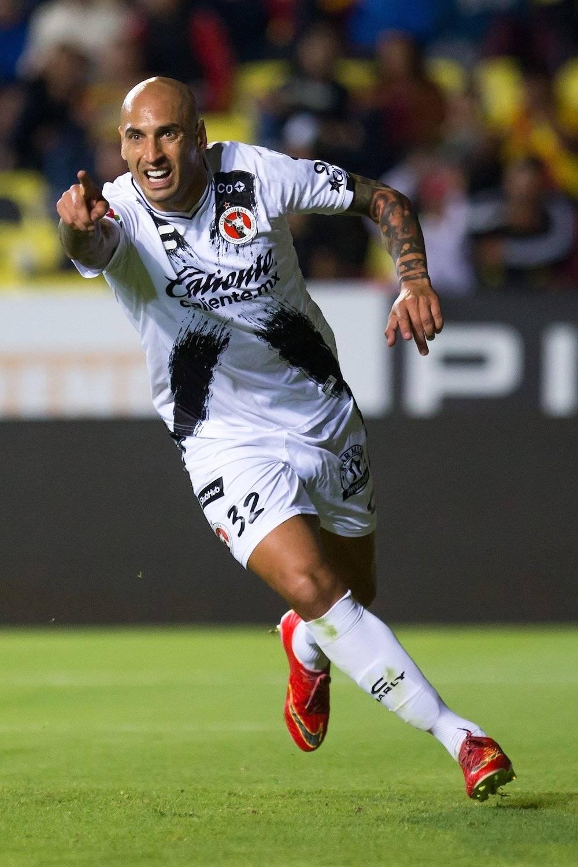 Nahuelpan hizp el único gol del partidp. / Mexsport