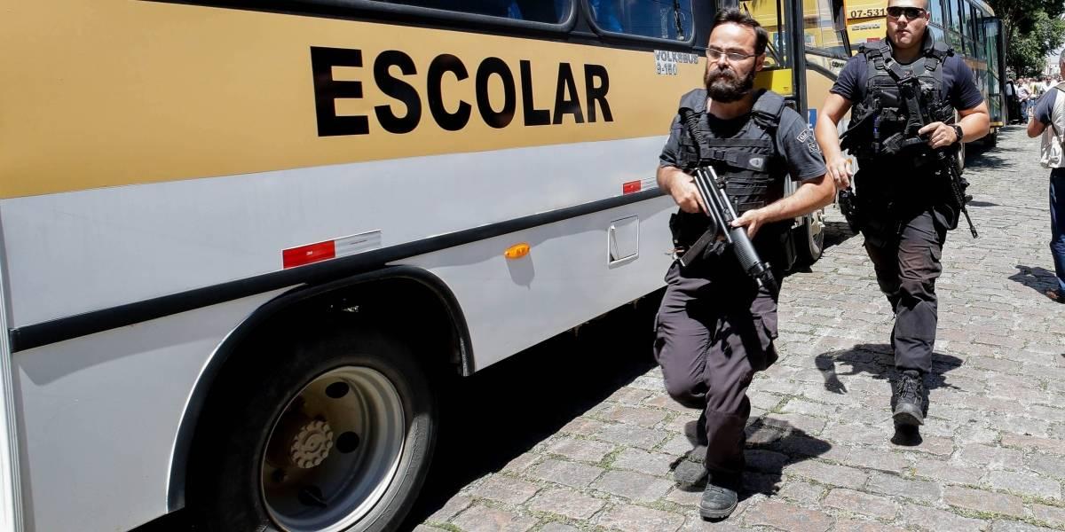 Tiroteo en escuela de Sao Paulo deja 5 niños fallecidos