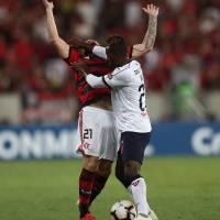 Flamengo vs Liga de Quito: El 'Fla' gana 3-1 a los 'Albos' en el partido de ida