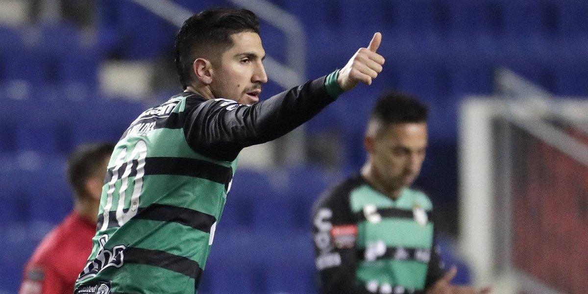 Diego Valdés fue genio y figura en la brillante clasificación de Santos a semis de la Concachampions