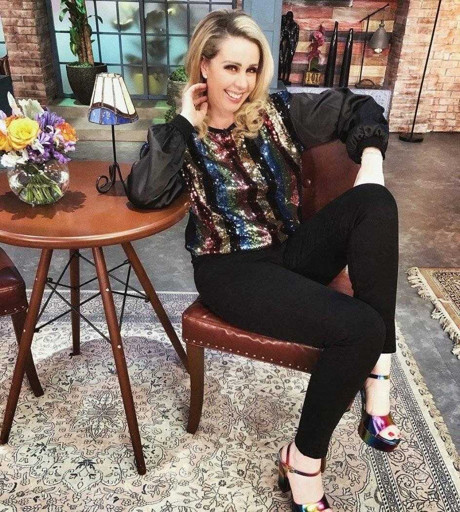 La conductora defendió a su marido Instagram