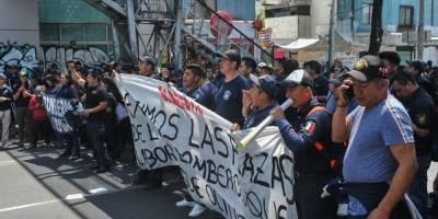 Manifestación bomberos