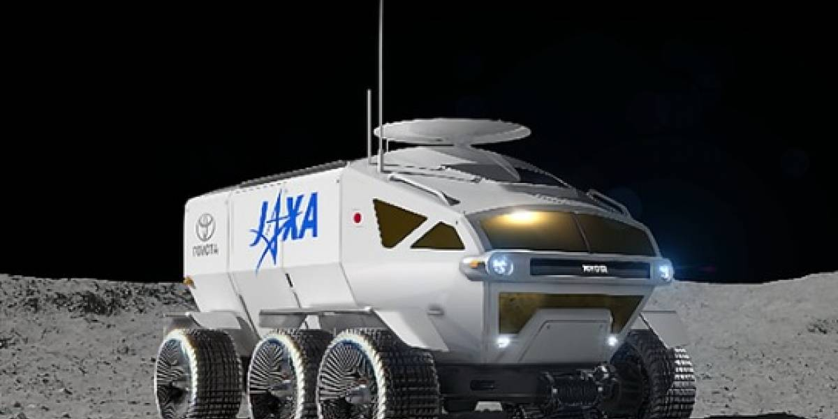 Para explorar a Lua, Toyota desenvolverá veículo autônomo para missão japonesa