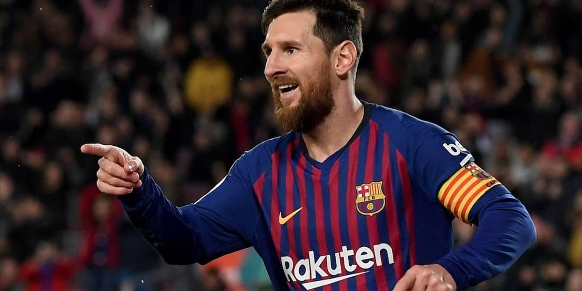 Lionel Messi, a salvar los papeles del Barcelona frente al Olympique Lyon