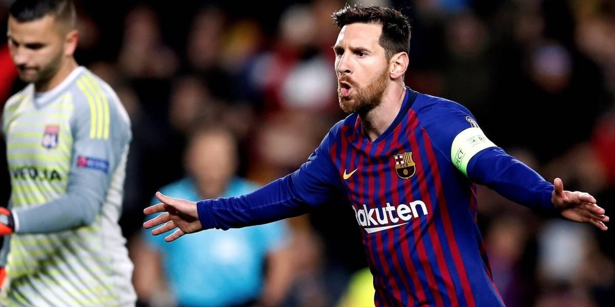 Messi no fue menos que Cristiano y clasificó al Barcelona en Champions