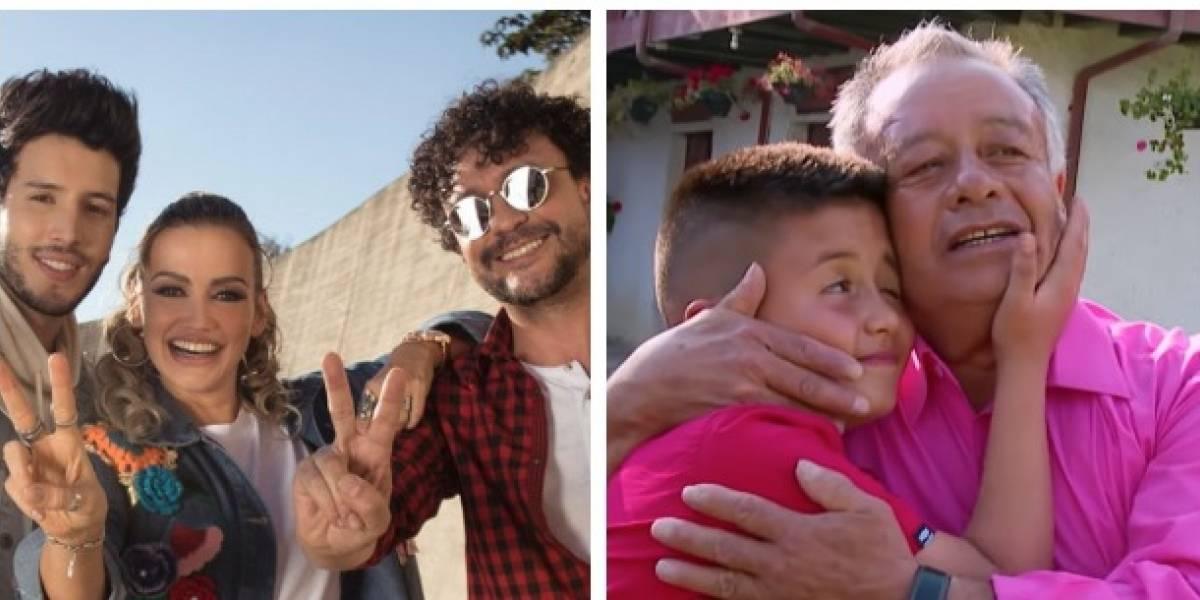 Abuelo en 'La Voz Kids' hizo llorar a los televidentes hablando de la muerte de su hijo