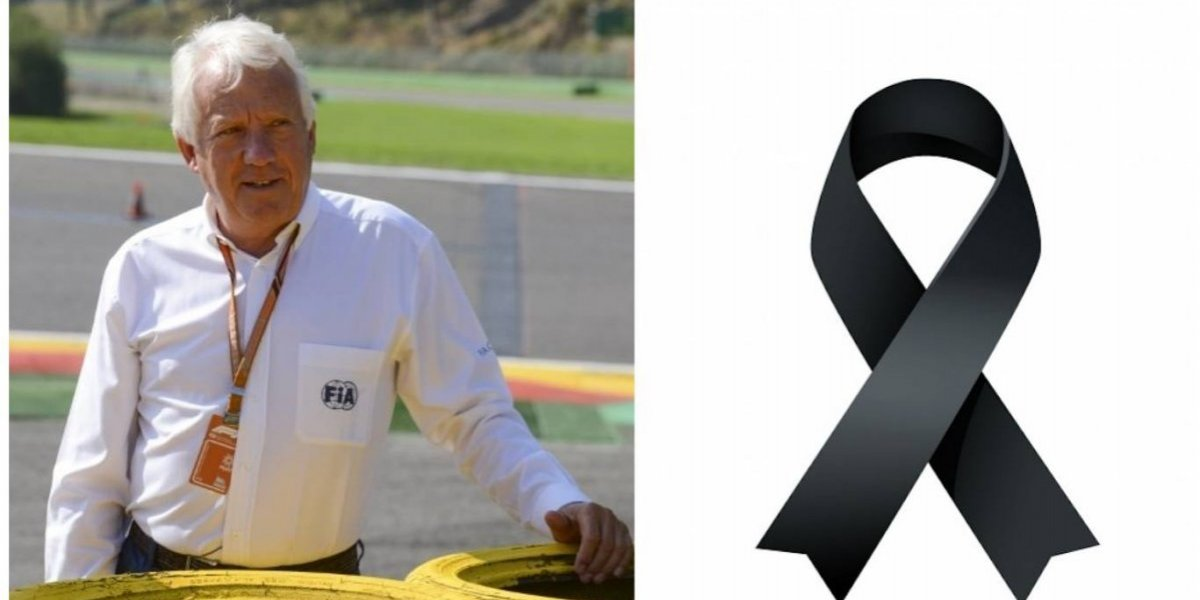 Fallece director de carreras de la Fórmula 1, Charlie Whiting