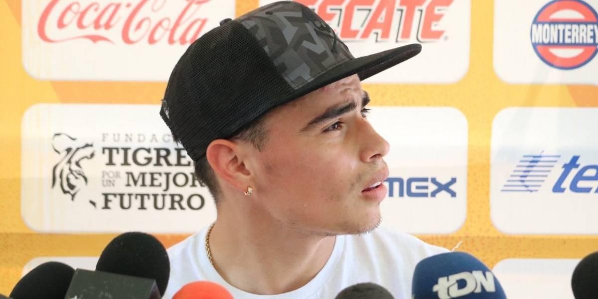 Lucaz Zelarayán está feliz de volver a las canchas tras lesión