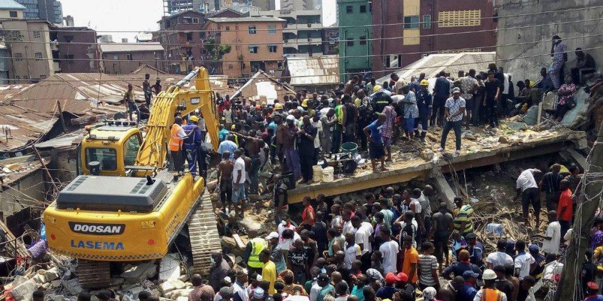 Derrumbe de escuela en Nigeria deja al menos 12 personas muertas