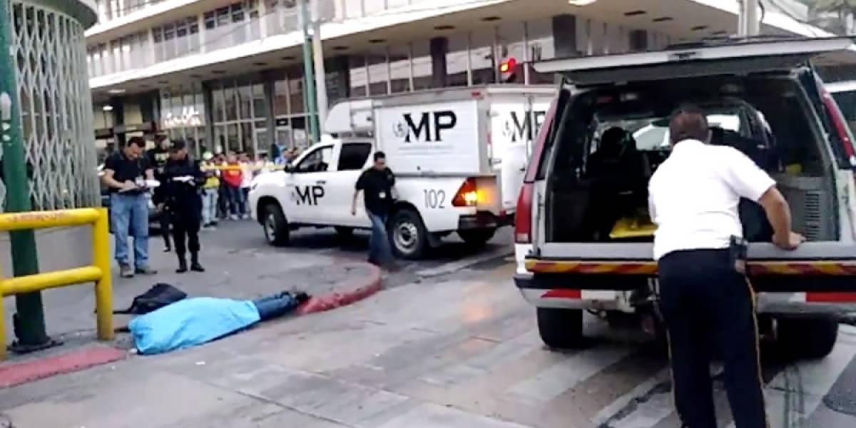 Ataque armado en el Centro Histórico deja un fallecido y dos heridos