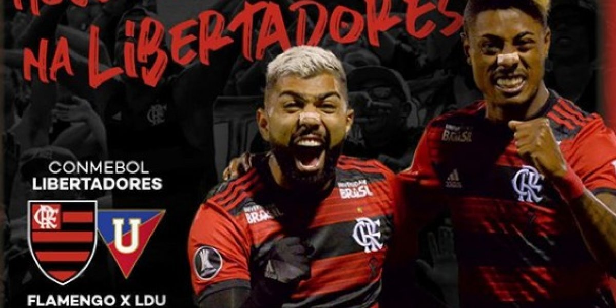 Copa Libertadores 2019: onde assistir ao vivo online o jogo FLAMENGO X LDU