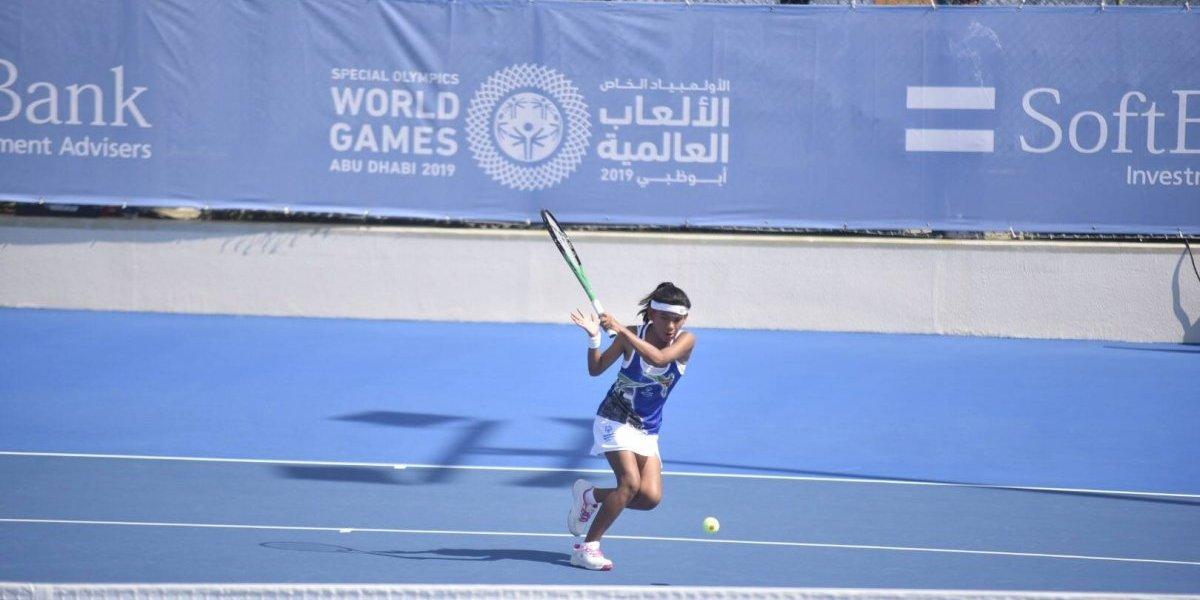 #GuateenAbuDhabi: los tenistas guatemaltecos avanzan en los Juegos Mundiales de Olimpiadas Especiales