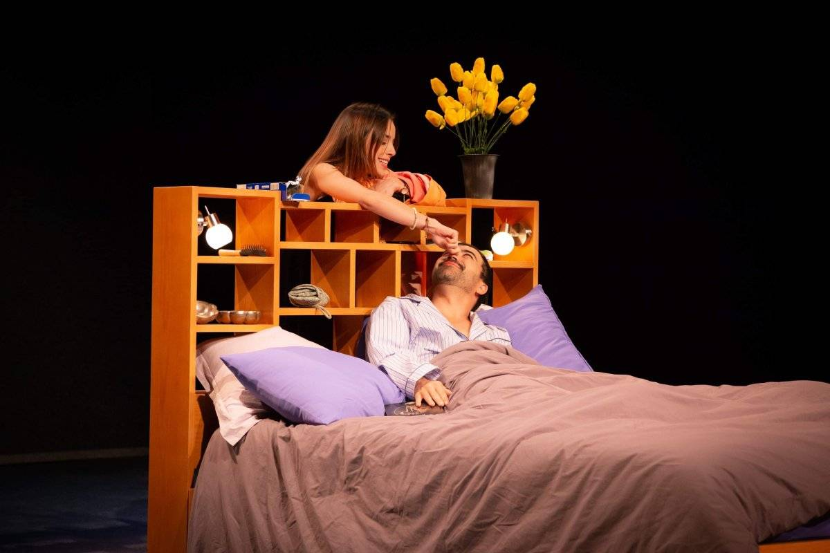 La puesta en escena Recámaras es una crítica a las relaciones de pareja y estará en el Teatro de las Artes del Cenart hasta el 17 de marzo Cortesía
