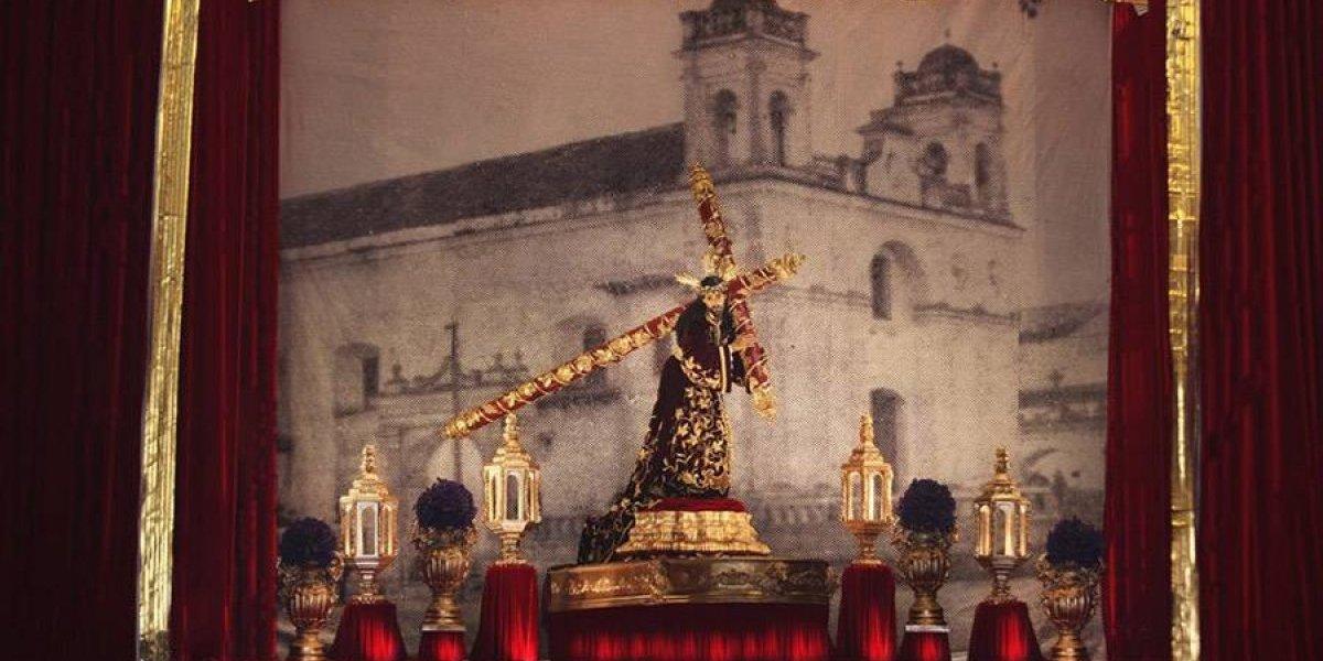 Exposición de Jesús de las Tres Potencias en el Palacio Nacional