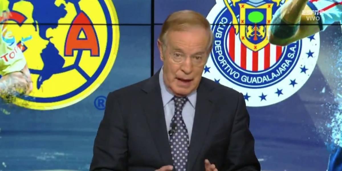 """VIDEO: Joserra menosprecia al América: """"no es conocido en el continente, solo en EU"""""""