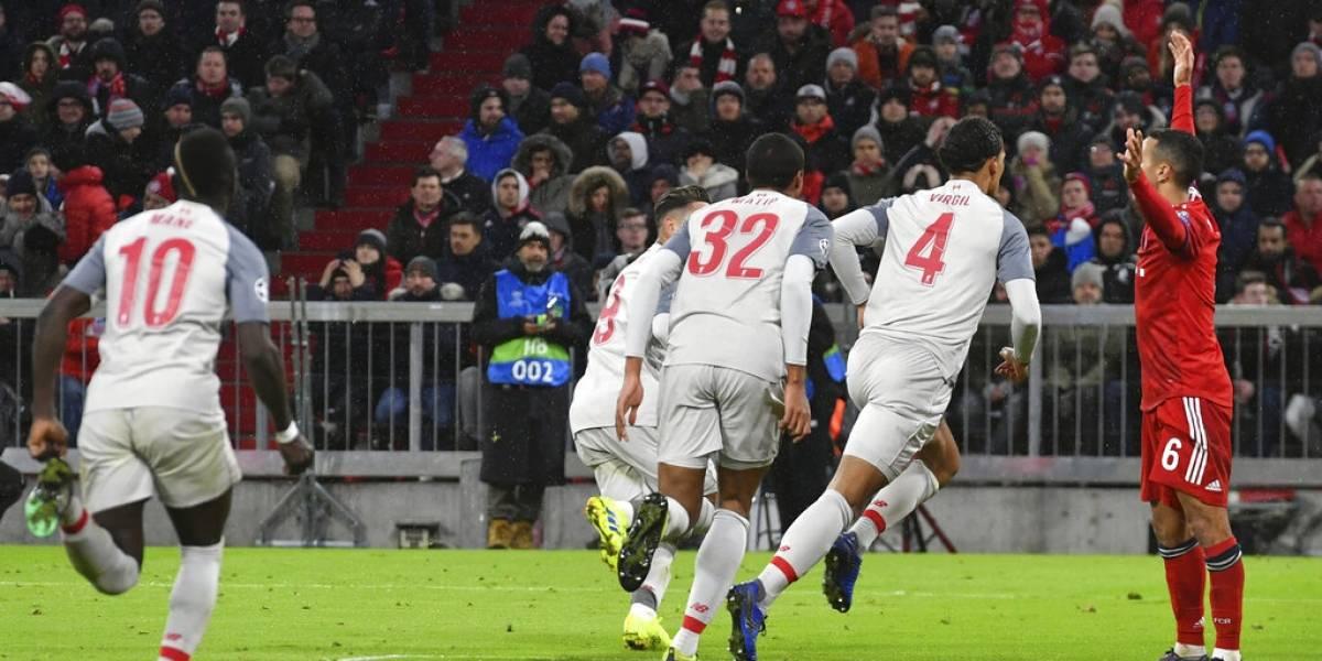 Liverpool golpeó al Bayern Munich en Alemania y lo dejó fuera de la Champions League