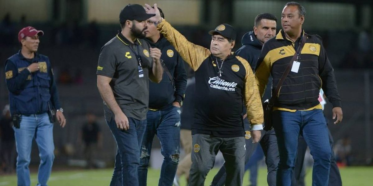'Le regalé un triunfo a Marioni, pero habrá revancha': Maradona
