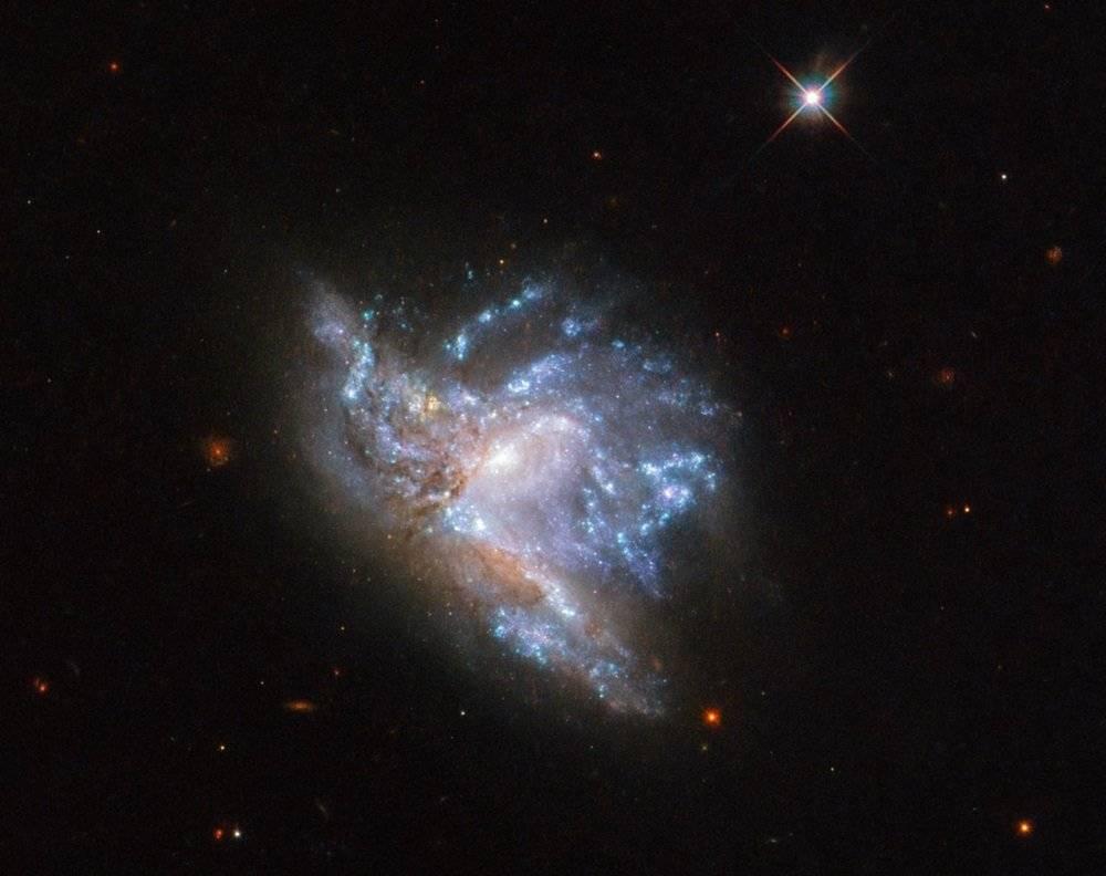 Galaxias chocando