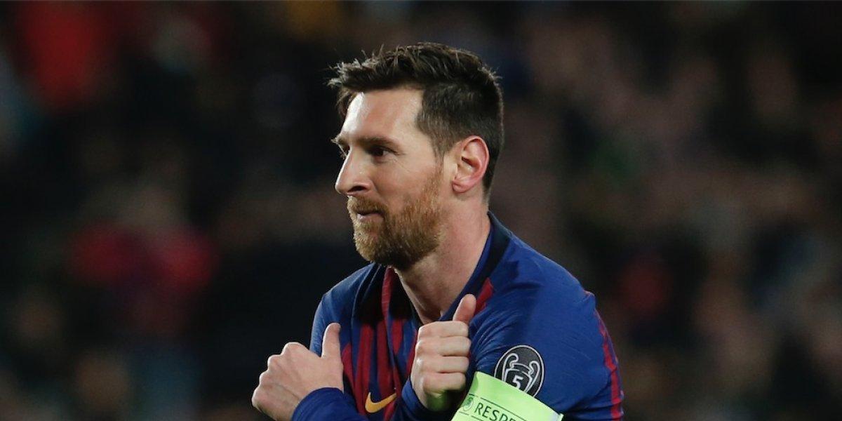"""VIDEO. Messi hizo su celebración más especial al mejor estilo """"Macarena"""""""