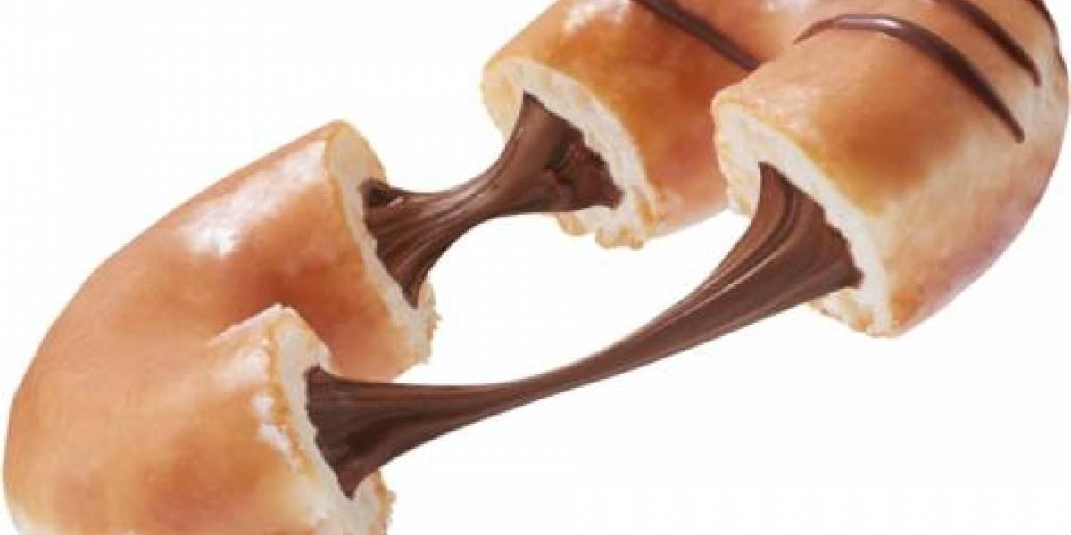 Donas originales Glazed rellenas Choco Avellanas y Dulce Leche; un deleite al paladar